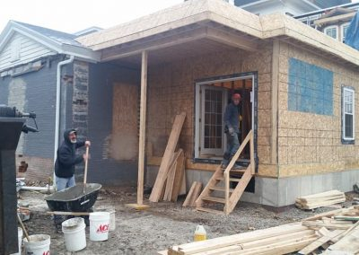 Cold Concrete & Outside Work